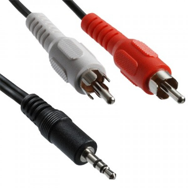 RCA SPLITTER CABLE FROM 3.5MM