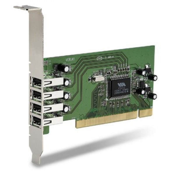 4 PORT USB 2.0 PCI HOST CARD