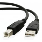 ULTRA HIGH SPEED USB 2.0 PRINTER CABLE 10FT