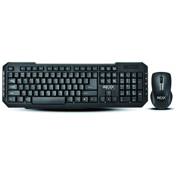 WIRELESS COMBO - KEYBOARD + OPTICAL MOUSE - ENGLISH