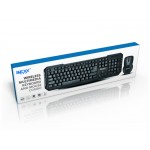 WIRELESS COMBO - KEYBOARD + OPTICAL MOUSE - SPANISH
