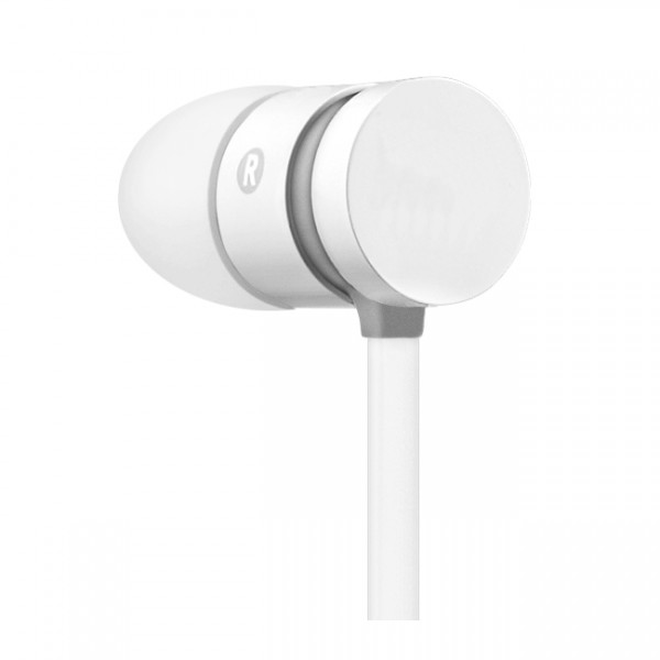 EARPHONE WITH MICROPHONE - FLAT CABLE