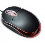 3D OPTICAL MOUSE with LED